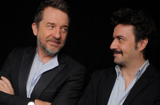 Benedetto Ferrara e Leonardo Venturi